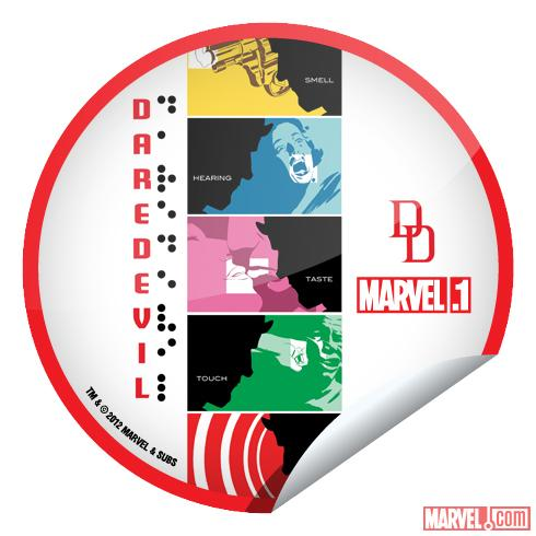 DareDevil #10.1 GetGlue Sticker