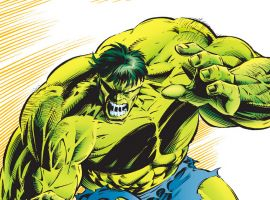 Universes Collide In 90s By The Numbers With The Hulk
