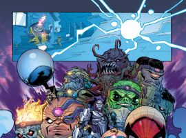 Secret Wars: Battleworld #1 preview art by Scott Hepburn