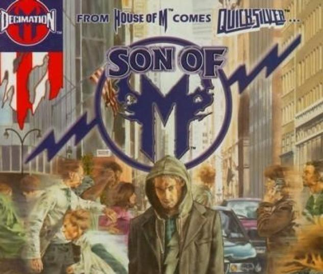 SON OF M #6 Cover by John Watson