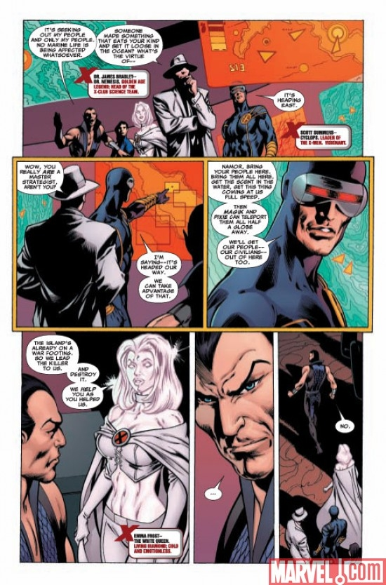 DARK REIGN: THE LIST - X-MEN ONE-SHOT Preview Page 2