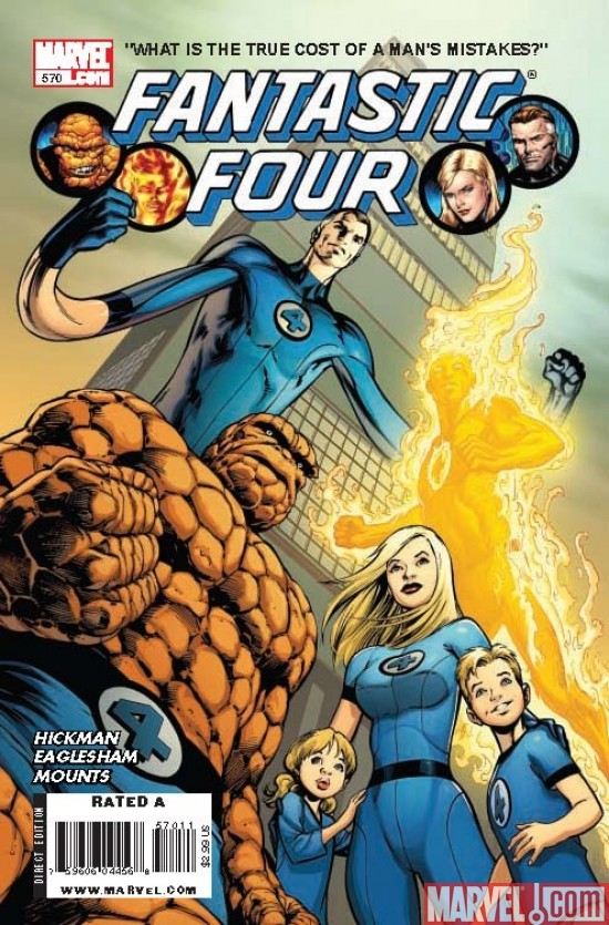 FANTASTIC FOUR #570