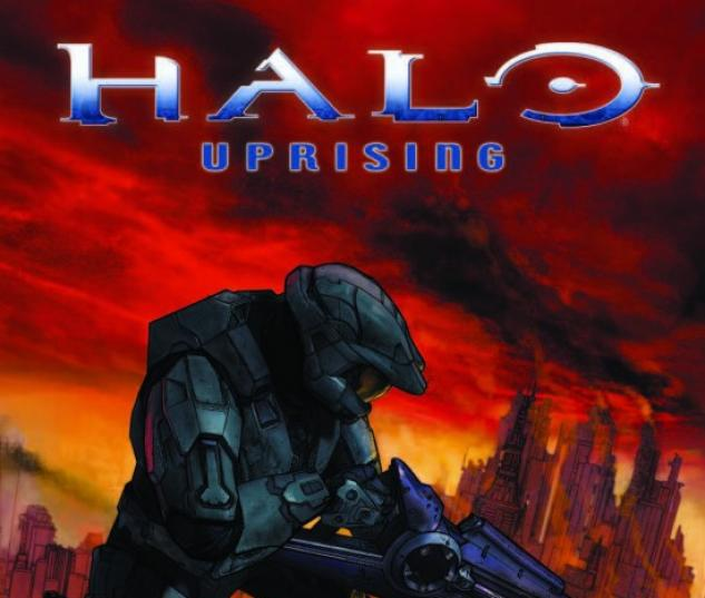 HALO UPRISING #4 Cover