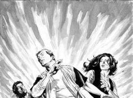 THE STAND: AMERICAN NIGHTMARES #1 SKETCH VARIANT