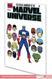 Essential Official Handbook of the Marvel Universe - Master Edition Vol. 1 (Trade Paperback)