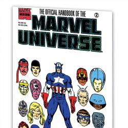 Essential Official Handbook of the Marvel Universe - Master Edition Vol. 1 (2008)