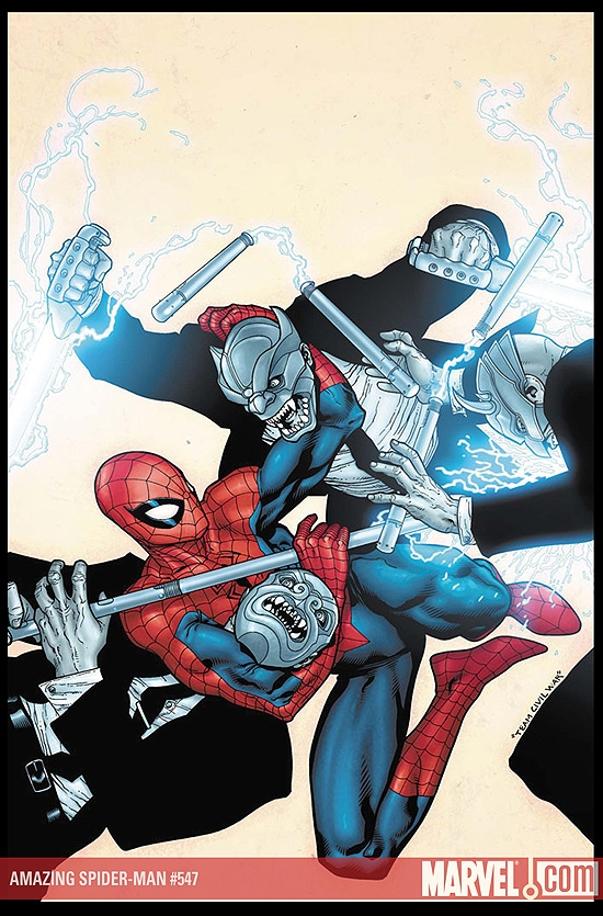 AMAZING SPIDER-MAN #547