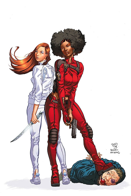 Daughters of the Dragon #1 cover