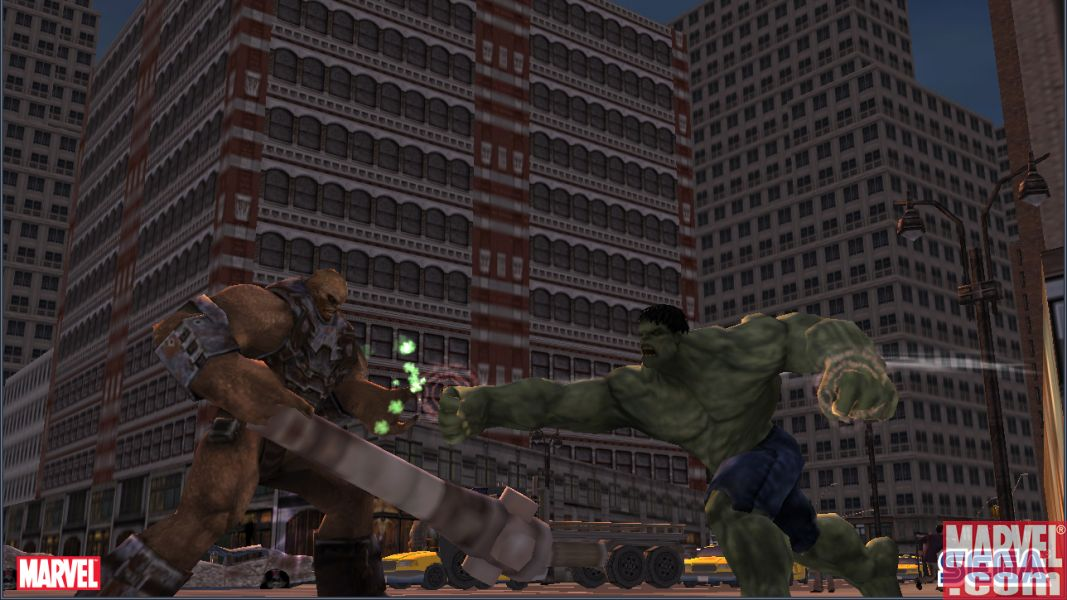Bi-Beast learns the hard way not to make fun of Hulk\'s momma