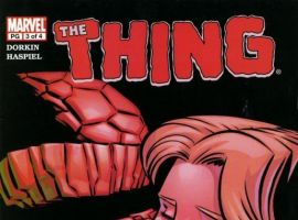 STARTLING STORIES: THE THING - NIGHT FALLS ON YANCY STREET #3 cover by Dean Haspiel