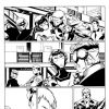AVENGERS ACADEMY #5 black and white preview art by Jorge Molina 3