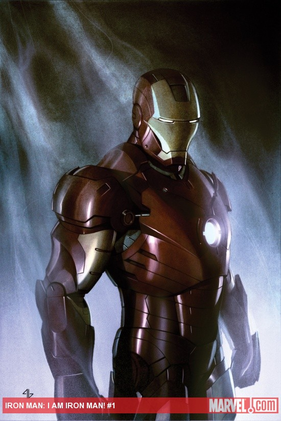 Iron Man: I Am Iron Man #1 cover art by Adi Granov