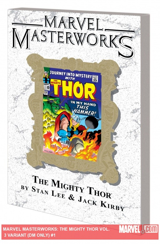 Marvel Masterworks: The Mighty Thor Vol. 3 TPB (DM Variant) cover