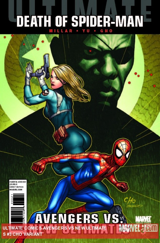 Ultimate Comics Avengers Vs. New Ultimates (2010) #3, CHO VARIANT