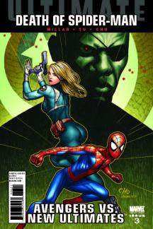Ultimate Comics Avengers Vs New Ultimates (2010) #3 (CHO VARIANT)
