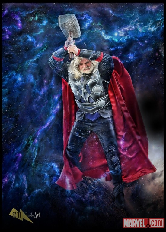 Marvel Costuming: Jay Tallsquall as Thor
