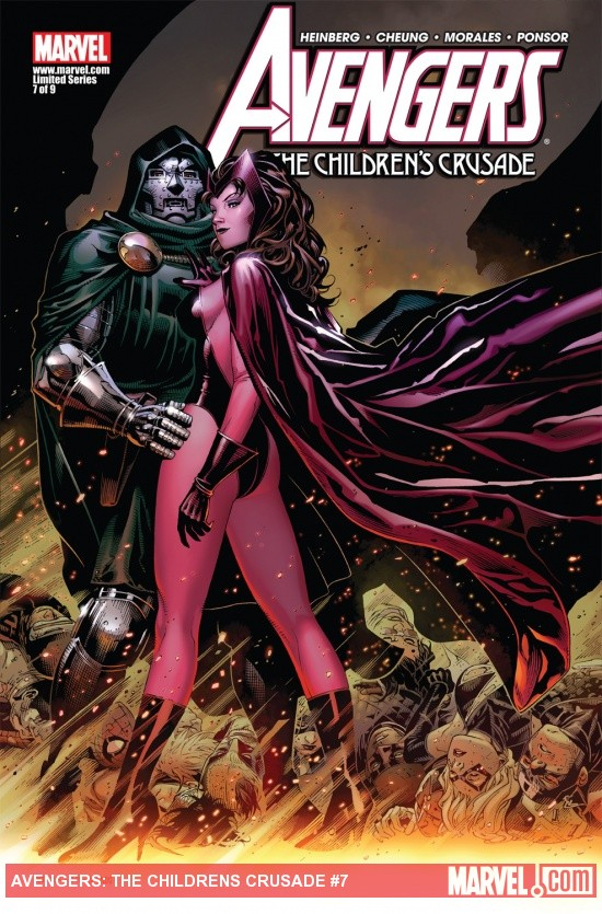Avengers: The Childrens Crusade (2010) #7 Cover