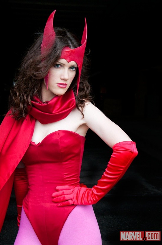 New York Comic Con 2011: Jessie as Scarlet Witch
