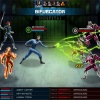 Screenshot of Mr. Fantastic and the Human Torch in Marvel: Avengers Alliance