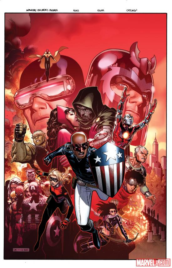Avengers: The Children's Crusade #9 cover by Jim Cheung