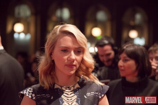 "Scarlett Johansson (Black Widow) at the red carpet premiere of ""Marvel's The Avengers"" in Rome"