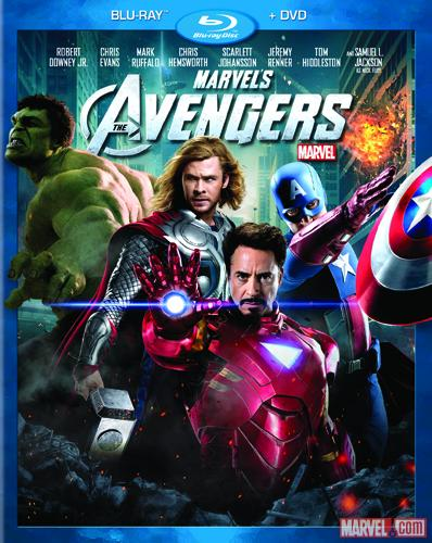 Marvel's The Avengers 2-Disc Combo Pack box art
