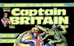 Captain Britain (1985) #10 Cover