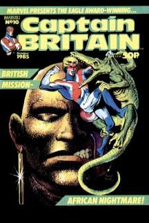 Captain Britain (1985) #10