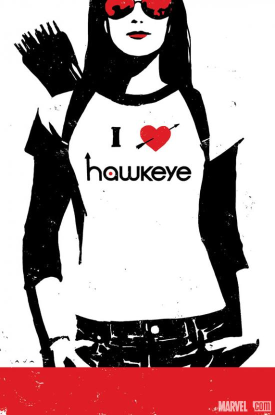Hawkeye #9 Cover Art