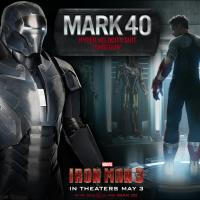 The Mark 40 Shotgun armor from Marvel's Iron Man 3
