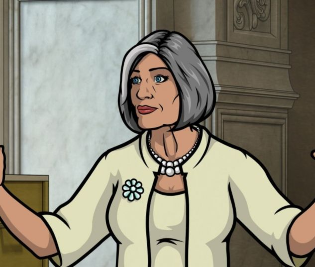 Jessica Walter as Malory on Archer