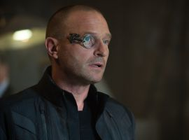 Baron Strucker (Thomas Kretschmann) ponders in Marvel's 'Avengers: Age of Ultron,' hitting theaters May 1