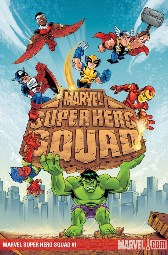 MARVEL SUPER HERO SQUAD #1