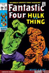 Fantastic Four #112 