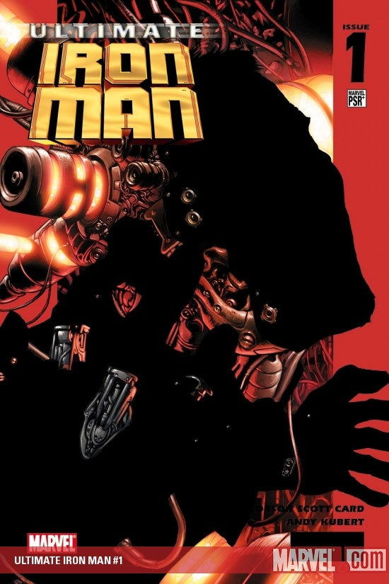 ULTIMATE IRON MAN (2007) #1 COVER