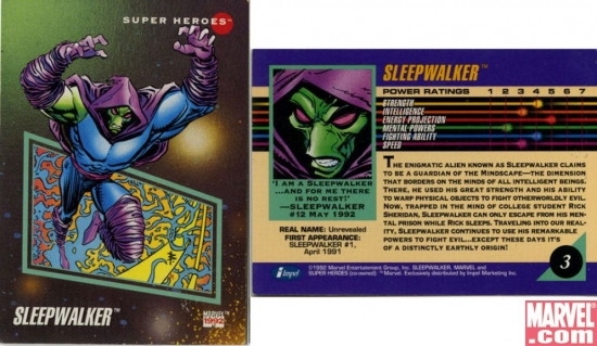 Sleepwalker, Card #3