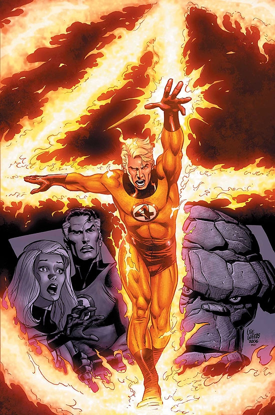 FANTASTIC FOUR: A DEATH IN THE #1