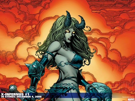 X-Infernus (2008) #1 Wallpaper