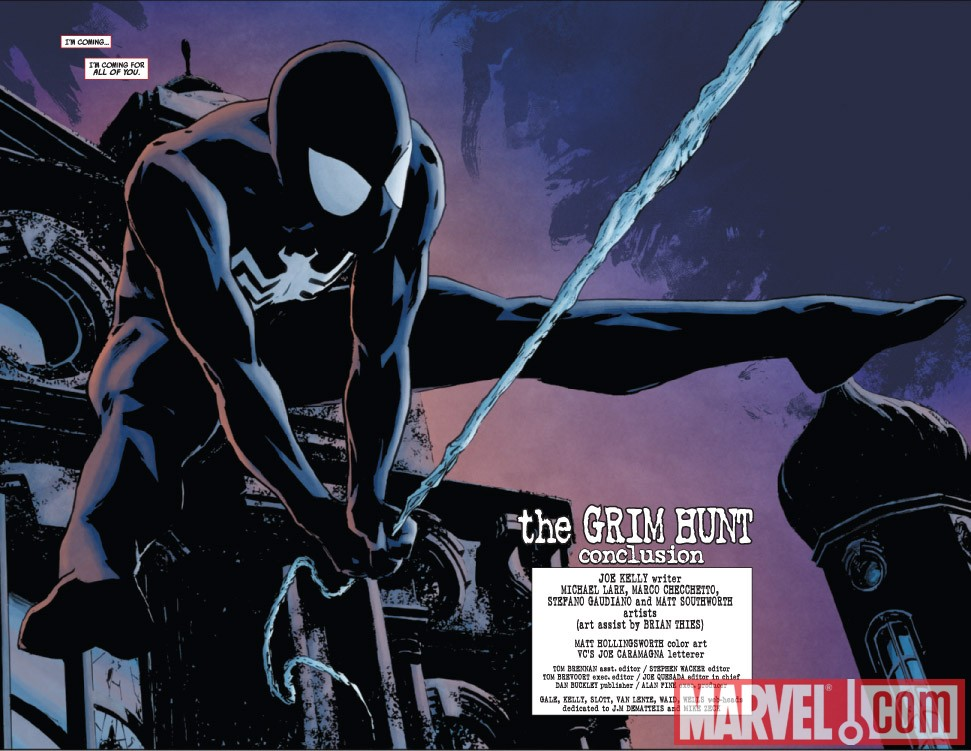 AMAZING SPIDER-MAN #637 preview art by Michael Lark