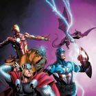 Image Featuring Avengers, Iron Man, Lockheed, Lockjaw, Thor, The Winter Soldier, Pet Avengers