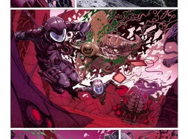 Uncanny X-Force #2 preview art by Jerome Opena