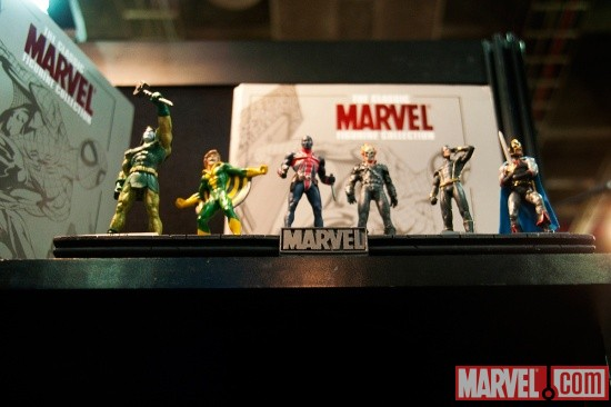 Eaglemoss Publications Classic Marvel Figurine Collection (Part 3) at Toy Fair 2011