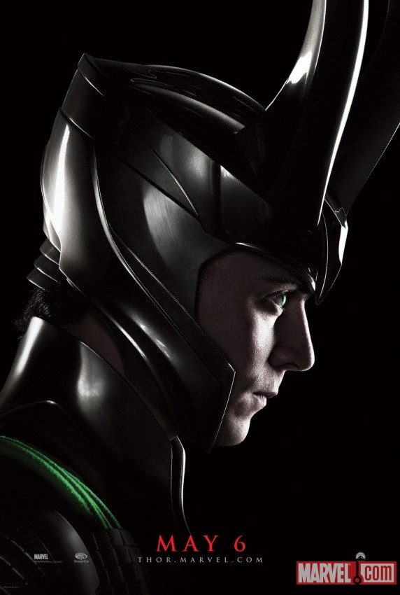 New Thor movie poster featuring Loki at Wondercon