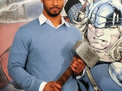 Isaiah Mustafa Hosts Thor Red Carpet Premiere