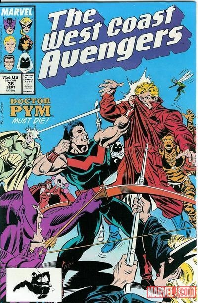 The West Coast Avengers vs Doctor Pym