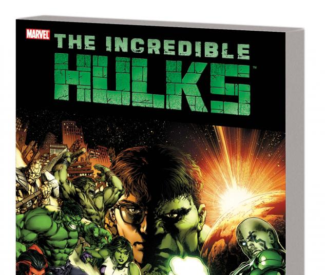 INCREDIBLE HULKS: DARK SON TPB cover