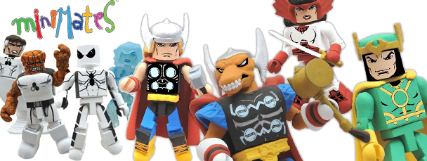 SDCC 2011: Exclusive Diamond Select Minimates