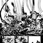 Venom (2011) #6 preview inks by Tom Fowler