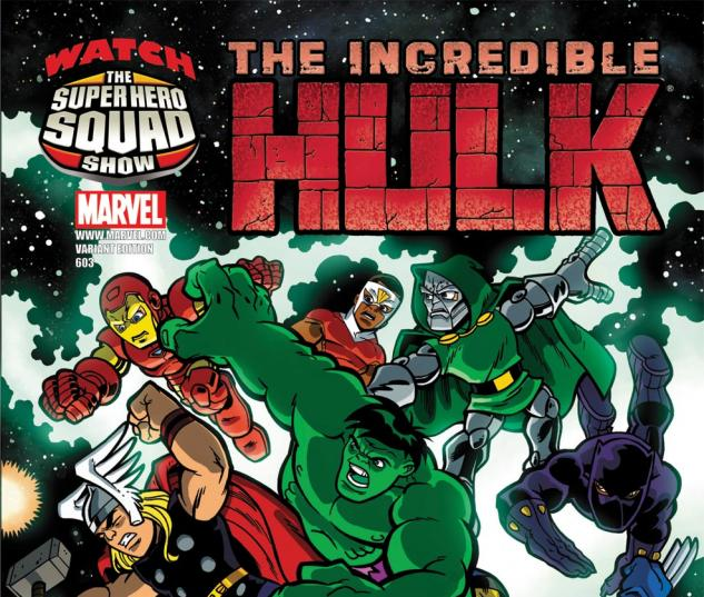 Incredible Hulks (2009) #603, SHS VARIANT