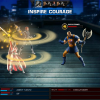 Sif vs. Executioner screen shot from Marvel: Avengers Alliance